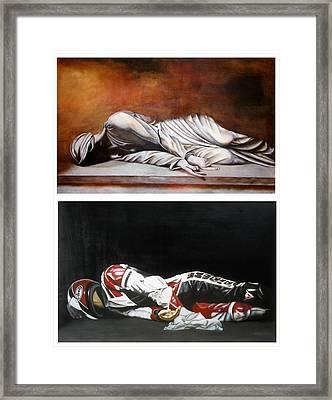 September Sixth Diptych Framed Print by Ian Hemingway