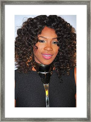 Serena Williams At Arrivals For Keep Framed Print by Everett