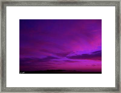 Serenity Framed Print by Ed Smith