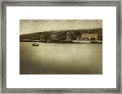 Serenity Framed Print by Linde Townsend