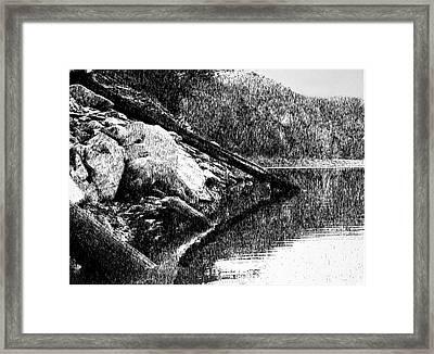 Serenity Framed Print by Robbi  Musser