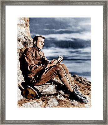 Sergeant York, Gary Cooper, 1941 Framed Print by Everett