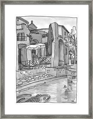 Serignac 1 Framed Print by Leonid Petrushin