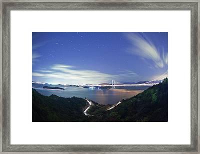 Seto Ohashi Framed Print by Trevor Williams/Fiz-iks