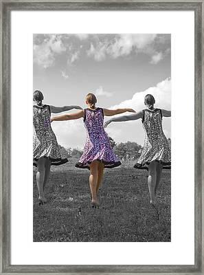 Seven  Framed Print by Betsy Knapp