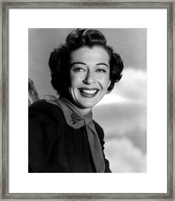 Seven Men From Now, Gail Russell, 1956 Framed Print by Everett