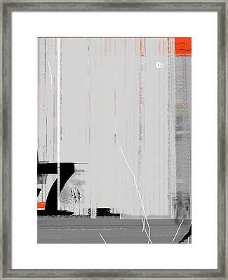 Seven Framed Print by Naxart Studio