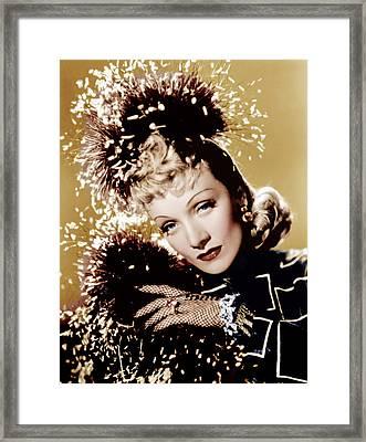 Seven Sinners, Marlene Dietrich, 1940 Framed Print by Everett