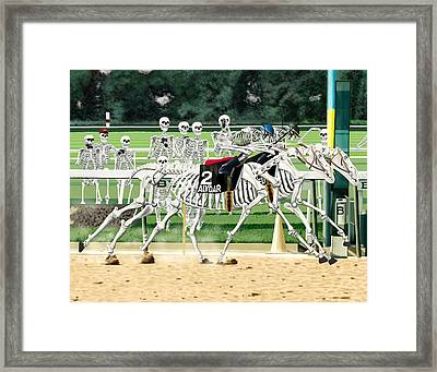 Seventy-eight Belmont Stakes Framed Print by Benjamin Anderson