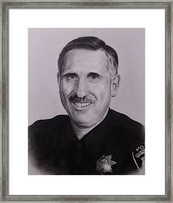 Sgt. Weaver Framed Print by Patrick Entenmann