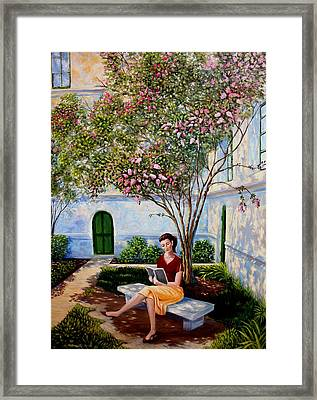 Shade Framed Print by Ron  Markowitz