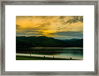 Shades Of A Good Day Framed Print by Ken Beatty