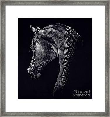 Shadow Framed Print by Yenni Harrison