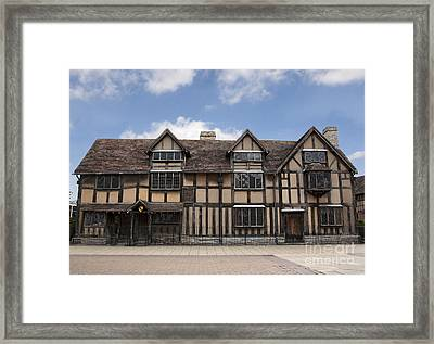 Shakepeare's House Framed Print by Jane Rix