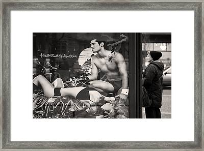Shame On You Two...stockholm Framed Print by Stelios Kleanthous