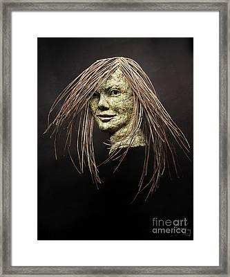 Shana Framed Print by Adam Long