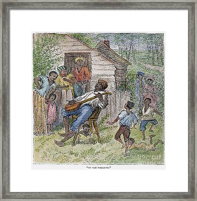 Sharecroppers, 1876 Framed Print by Granger