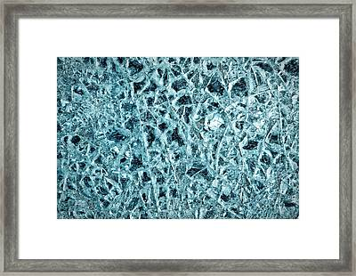 Shattered Glass Framed Print by Tom Gowanlock