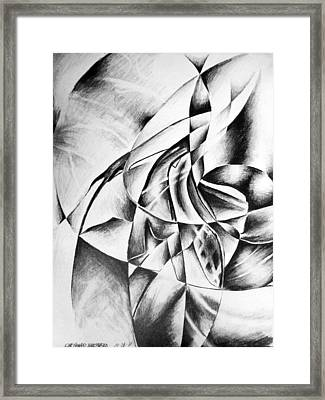 Shattered Values  Framed Print by Che Hondo