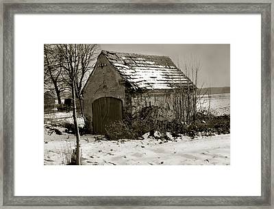 Shed Framed Print by Marcin and Dawid Witukiewicz