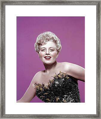 Shelley Winters, 1950s Framed Print by Everett