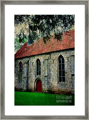 Shelter From The Storm Framed Print by Carol Groenen