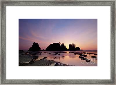 Shi Shi Beach Framed Print by Keith Kapple