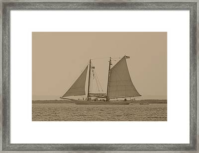 Ship 31 Framed Print by Joyce StJames