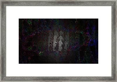 Ship's Footprint Framed Print by Mitra Kelly