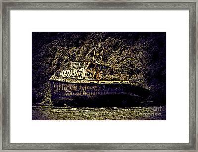 Shipwreck Framed Print by Tom Prendergast