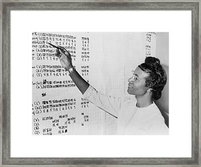 Shirley Chisholm 1924-2005 Monitoring Framed Print by Everett