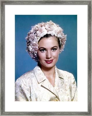 Shirley Jones, C. 1950s Framed Print by Everett