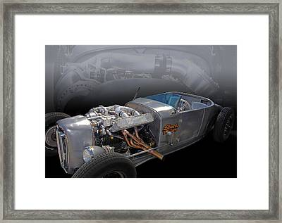 Shock Therapy Framed Print by Bill Dutting