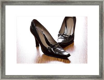 Shoes Framed Print by Blink Images