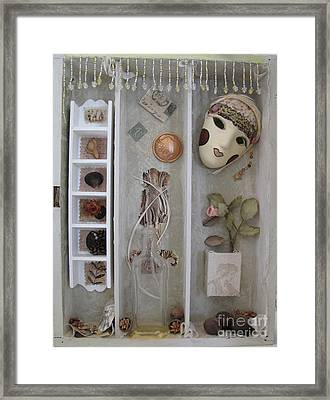 Showbiz Left Framed Print by Sandy McIntire