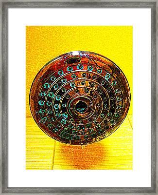 Shower Framed Print by Randall Weidner