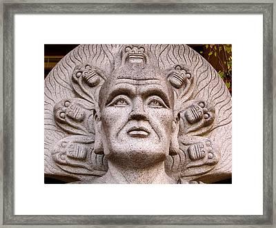 Siddartha Framed Print by Tom Gent