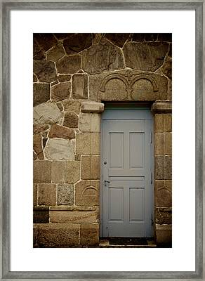Side Door Framed Print by Odd Jeppesen