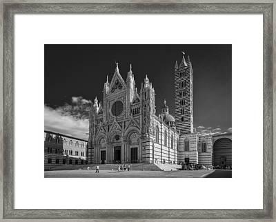 Siena Duomo Framed Print by Michael Avory