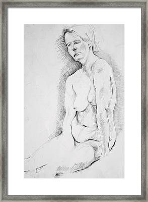 Signe 2 Framed Print by Vesna Vuksanovic