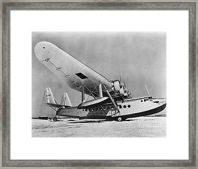 Sikorsky S-42 Framed Print by Photo Researchers