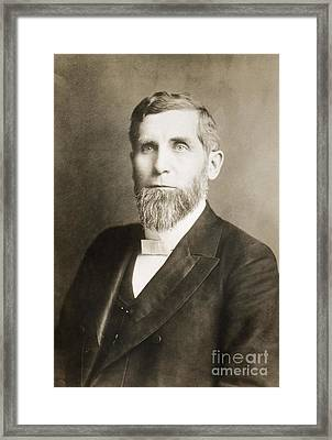 Silas Swallow (1839-1930) Framed Print by Granger