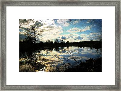 Silence Of Worms Framed Print by Jerry Cordeiro