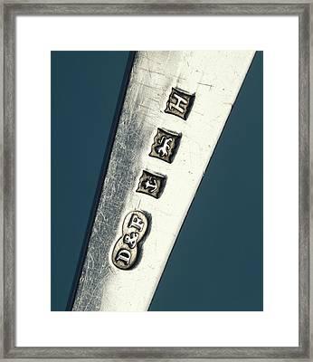 Silver Hallmark Framed Print by Sheila Terry