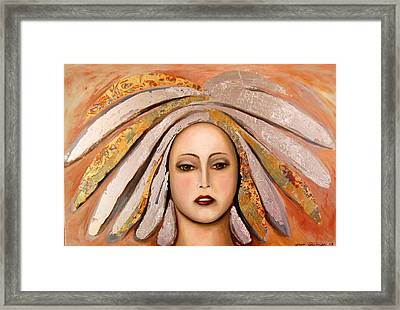 Silver Framed Print by Leah Saulnier The Painting Maniac