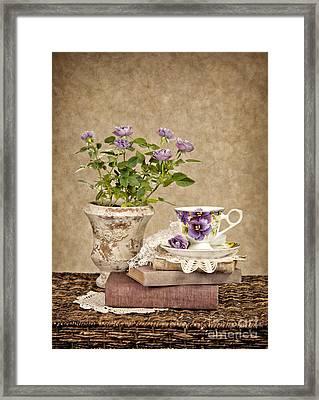 Simple Pleasures Framed Print by Cheryl Davis