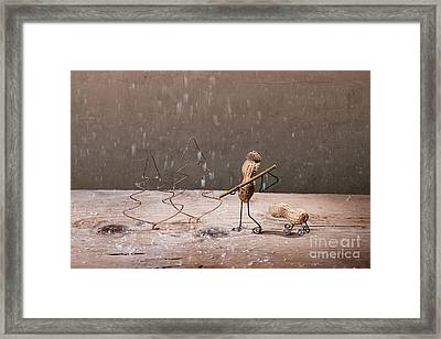 Simple Things - Christmas 04 Framed Print by Nailia Schwarz