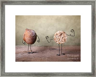 Simple Things 01 Framed Print by Nailia Schwarz