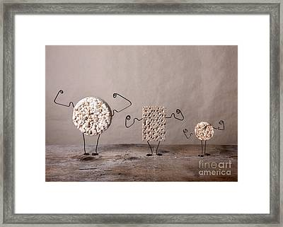 Simple Things 03 Framed Print by Nailia Schwarz
