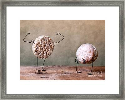 Simple Things 04 Framed Print by Nailia Schwarz